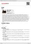Digitální booklet (A4) Kale