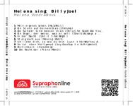 Zadní strana obalu CD Helena singt Billy Joel