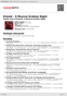 Digitální booklet (A4) Kismet - A Musical Arabian Night