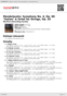 "Digitální booklet (A4) Mendelssohn: Symphony No. 4, Op. 90 ""Italian"" & Octet for Strings, Op. 20"