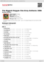 Digitální booklet (A4) The Biggest Reggae One-Drop Anthems 2006