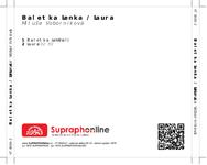 Zadní strana obalu CD Baletka Lenka / Laura
