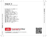 Zadní strana obalu CD Zázemí 2