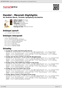 Digitální booklet (A4) Handel : Messiah Highlights