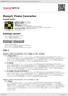 Digitální booklet (A4) Mozart: Piano Concertos