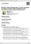 Digitální booklet (A4) Mozart: Flute Concerto No.1 K.313; Concerto for Flute & Harp K.299; Andante K.315