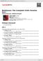 Digitální booklet (A4) Beethoven: The Complete Violin Sonatas Vol.I