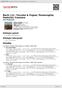 Digitální booklet (A4) Bach, J.S.: Toccata & Fugue; Passacaglia; Pastoral; Canzona