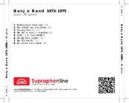 Zadní strana obalu CD Banjo Band 1973-1975