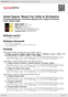Digitální booklet (A4) Saint-Saens: Music For Cello & Orchestra