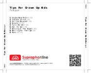 Zadní strana obalu CD Tips For Grown Up Kids
