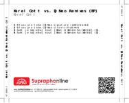 Zadní strana obalu CD Karel Gott vs. DJ Neo Remixes (EP)