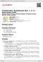 Digitální booklet (A4) Tchaikovsky: Symphonies Nos. 1, 2, 4 / Nutcracker Suite