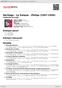 Digitální booklet (A4) Heritage - La Sisique - Philips (1957-1959)