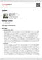 Digitální booklet (A4) Metals