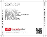 Zadní strana obalu CD Merry Christmas