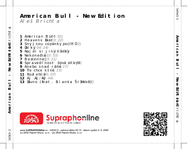 Zadní strana obalu CD American Bull - New Edition