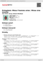 Digitální booklet (A4) Ockeghem: Missa l'homme arme / Missa sine nomine