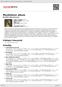 Digitální booklet (A4) Muzikálové album