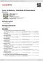 Digitální booklet (A4) Love & History: The Best Of Downhere