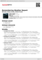 Digitální booklet (A4) Remembering Weather Report