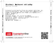 Zadní strana obalu CD Fischer: Duchovní skladby
