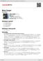Digitální booklet (A4) Blue Sugar