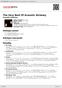 Digitální booklet (A4) The Very Best Of Acoustic Alchemy