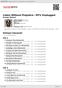 Digitální booklet (A4) Listen Without Prejudice / MTV Unplugged