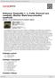 Digitální booklet (A4) Debussy: Rapsodie č. 1, Falla: Koncert pro cembalo, Martin: Malá koncertantní symfonie