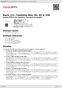 Digitální booklet (A4) Bach, J.S.: Cantatas Nos. 56, 82 & 158