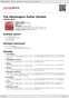 Digitální booklet (A4) The Washington Guitar Quintet