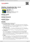 Digitální booklet (A4) Sibelius: Symphonies Nos. 4 & 5