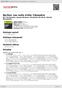 Digitální booklet (A4) Berlioz: Les nuits d'été; Cléopatre