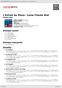Digitální booklet (A4) L'Enfant Au Piano / Lama Chante Brel