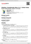 Digitální booklet (A4) Sibelius: Symphonies Nos.4 & 7; Valse triste