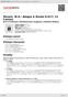 Digitální booklet (A4) Mozart, W.A.: Adagio & Rondo K.617; 12 Canons