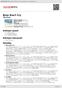 Digitální booklet (A4) Boys Don't Cry