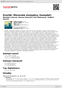 Digitální booklet (A4) Dvořák: Moravské dvojzpěvy (komplet)