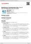 Digitální booklet (A4) Beethoven Symphonies Nos. 5 & 7