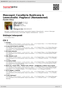 Digitální booklet (A4) Mascagni: Cavalleria Rusticana & Leoncavallo: Pagliacci (Remastered)