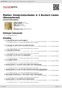 Digitální booklet (A4) Mahler: Kindertotenlieder & 3 Ruckert Lieder (Remastered)