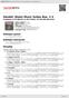 Digitální booklet (A4) Handel: Water Music Suites Nos. 1-3