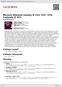 Digitální booklet (A4) Mozart: Klavírní sonáty K 333, 457, 570, Fantazie K 475