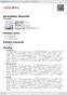 Digitální booklet (A4) Seventeen Seconds