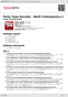Digitální booklet (A4) Party Tyme Karaoke - Adult Contemporary 5