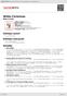 Digitální booklet (A4) White Christmas