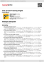 Digitální booklet (A4) The Great Twenty-Eight