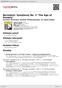 """Digitální booklet (A4) Bernstein: Symphony No. 2 """"The Age of Anxiety"""""""
