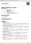 Digitální booklet (A4) Billie Holiday For Lovers